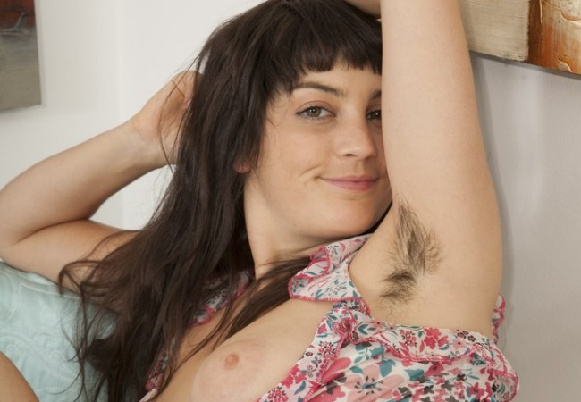 WeAreHairy – Angelina Dee's Hairy Pussy And Pits