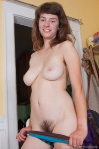WeAreHairy Ciara Shows Her Pretty Hairy Teen Pussy