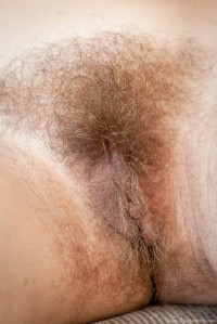 WeAreHairy Ginger Probes her Unshaven Pussy