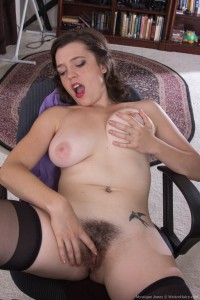 We Are Hairy Girl Mystique Jones Is a Horny Secretary