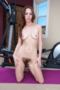 Hairy Sammy Vs. Her Trainer's Big Cock