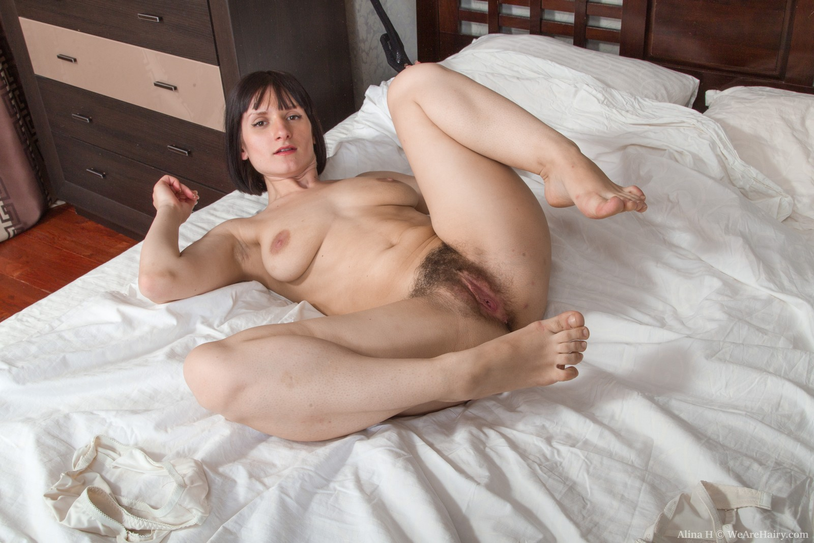image Chubby hairy miranda toys before getting fucked